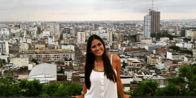 The latest photo of Olga taken just yesterday at Cerro del Carmen in Guayaquil, Ecuador