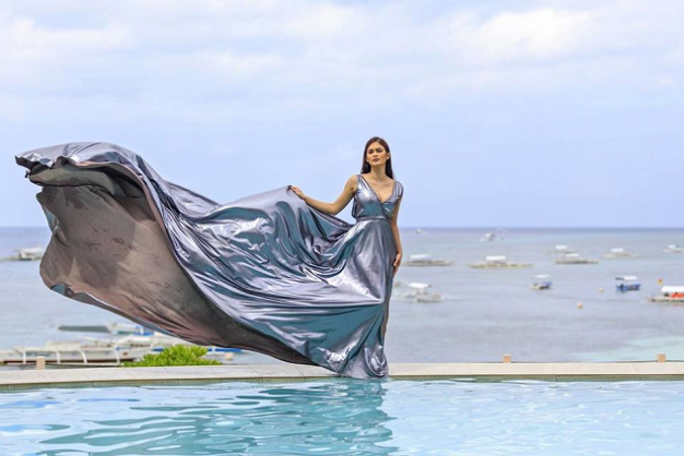 Miss Universe Philippines 2015 Pia Alonzo Wurtzbach at Amorita Resort in Bohol for the Inquirer Lifestyle