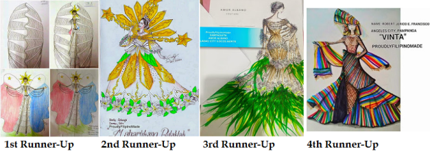 Above are the four runners-up in the design contest.