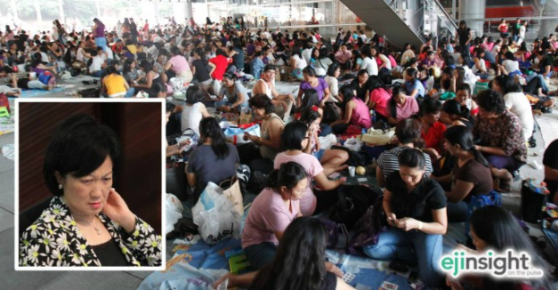 HK Legislator Regina Ip is unapologetic about her comments against Filipina Domestic Helpers being home-wreckers. Click above to read more (Photo credit: HKEJ)