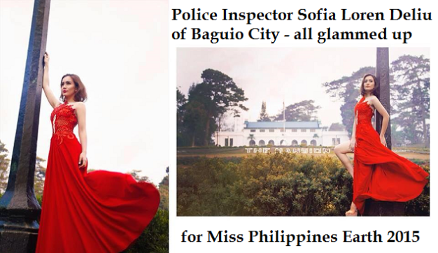 Miss Baguio City went to her beloved City of Pines to shoot the environmental video for MPE2015