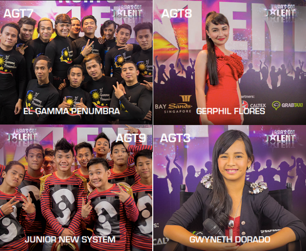 The voting codes for the four Filipino acts are specified above. Just text and send to 2929.