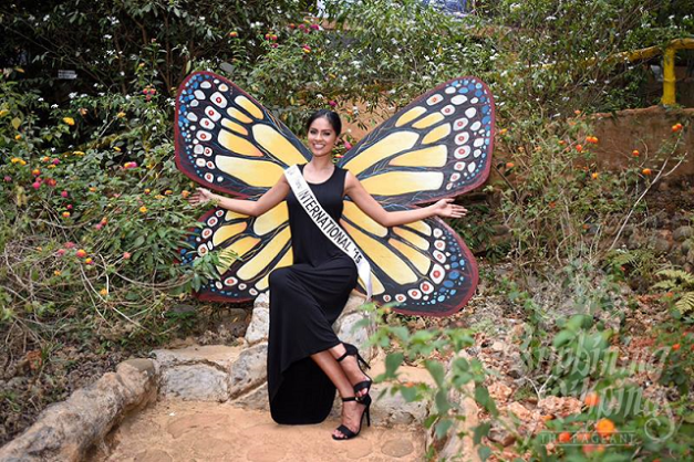Like a colorful butterfly in full bloom, Janicel is ready to spread her wings for the whole world to see