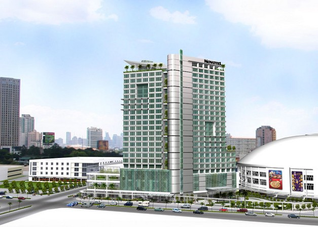 How the completed Novotel Manila Araneta Center will look like by the 4th Quarter of 2015