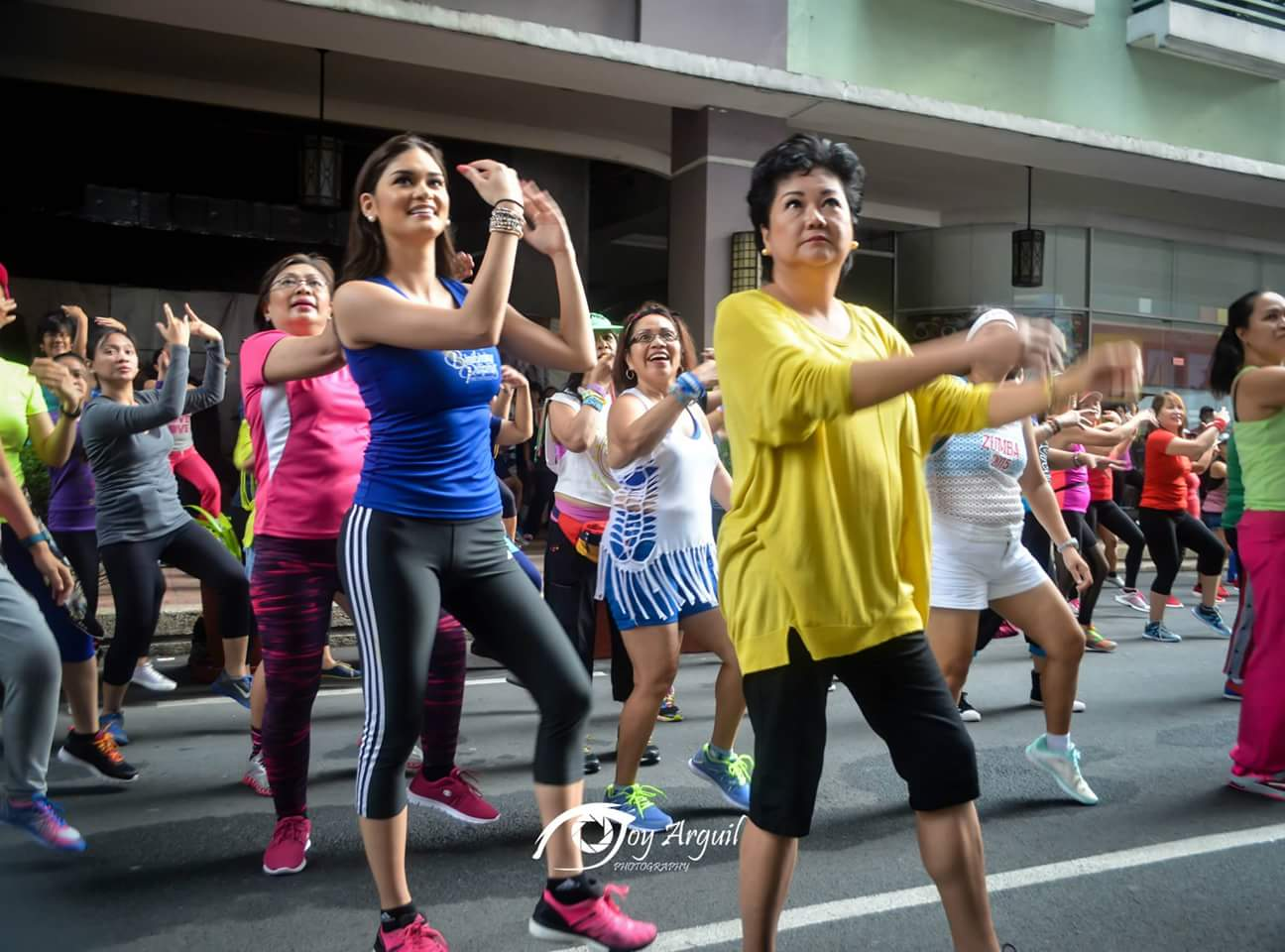 A Motheru2019s Day Zumba Class with the Bb. Pilipinas 2015 Queens | normannorman.com