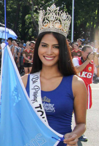 Ann during PNP Siglakasan Parade 2015