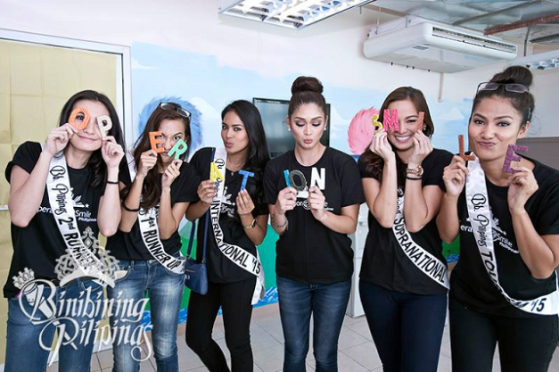 And when our Binibinis clown around for the camera, they do so without reservations