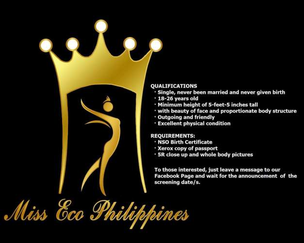 Click above to visit and like the Facebook page of Miss Eco Philippines