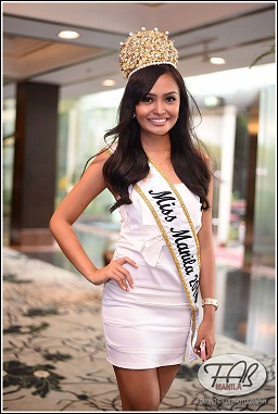 Miss Manila 2014 KC Halili (Photo credit: Edmund Chua)