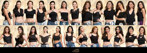 The twenty-six (26) Official Candidates of Miss Manila 2015