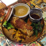 """One of the signature dishes is the """"Pata Kang Kare Ka!"""" which combines two Pinoy favorites - Crispy Pata and Kare-Kare"""