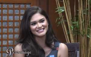 Miss Universe Philippines 2015 Pia Alonzo Wurtzbach on PTV's Personage
