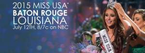 The banner above is no longer applicable. Miss USA 2015 will now live stream on missuniverse.com/missusa