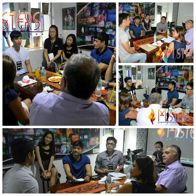 The grilling of the applicants by the screening committee which included your blogger and Neil Perez together with John & Tessie Herbst of Teceruma (Photo credit: Aski Pascual)