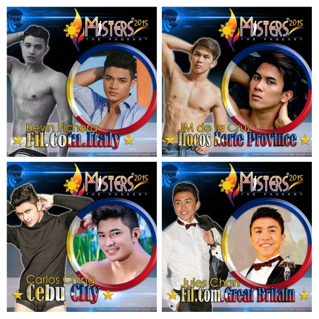 Don't forget Kevin, JM, Carlos and Jules. Click above to vote on Facebook.