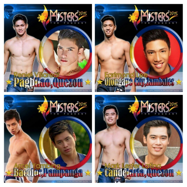 You can support Reniel, Earlmond, Arcel or Mark. Click above to vote on Facebook