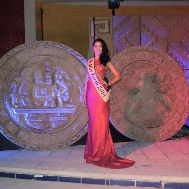 Miss Earth 2014 Jamie Herrell was the special guest during the crowning of Miss Earth Mexico 2015