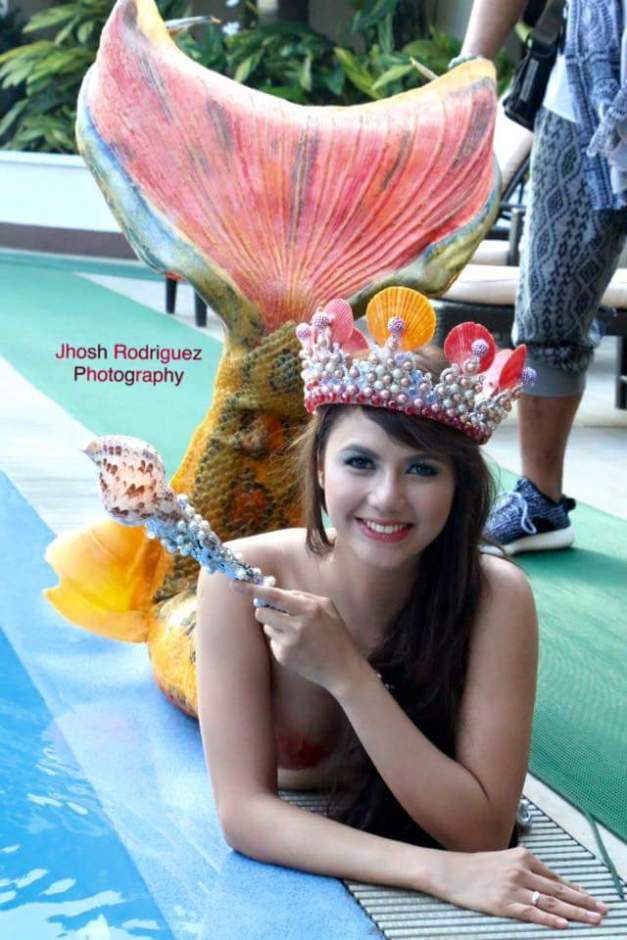 Miss Mermaid International Philippines 2015 Kayla Marie Talusan (Photo credit: Jhosh Rodriguez)