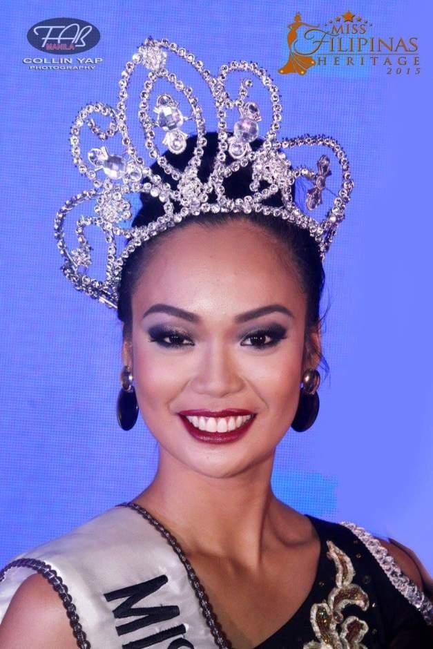 Miss Filipinas Heritage 2015 Maria Daziella Gange by Collin Yap