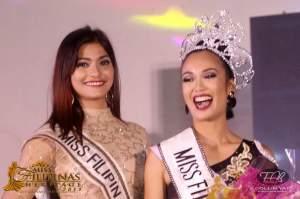 Miss Filipinas Herritage 2015 Maria Daziella Gange with Miss Heritage 2014 Odessa Mae Tadaya by Collin Yap