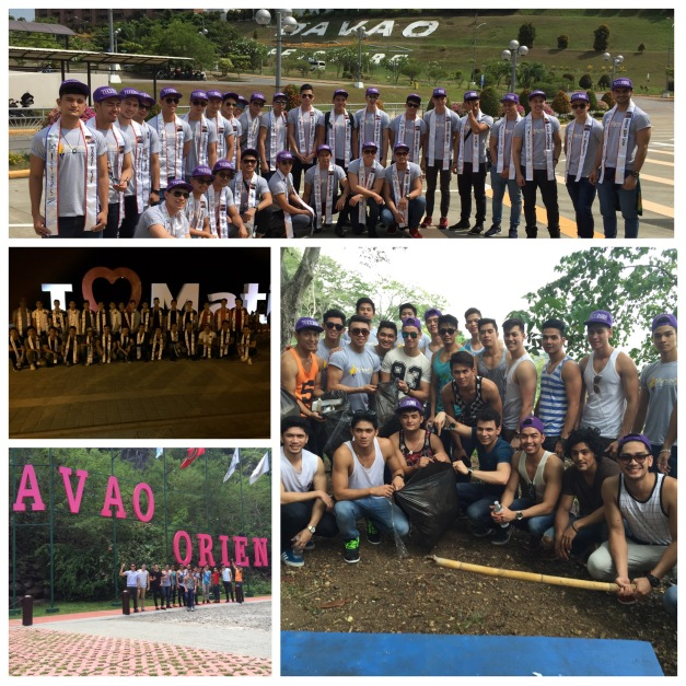 The Misters 2015 candidates toured Davao Del Norte and Davao Oriental. They got more than what they hoped to experience.