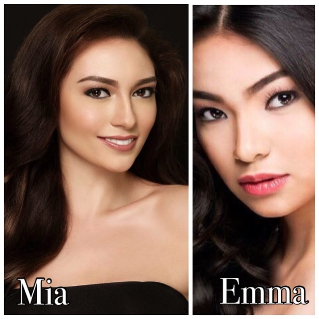 Two familiar faces from KF who screened for Miss World Philippines 2015 yesterday