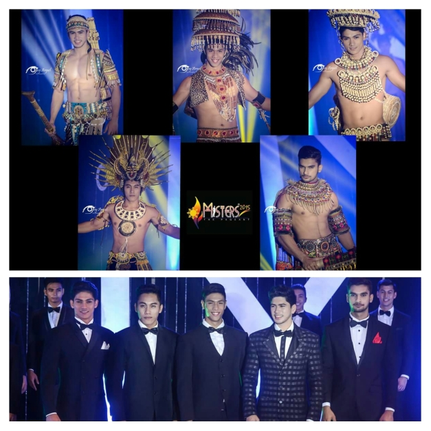 The Top 5 in the Ethnic Costume won by Rick Palencia of Tacloban (Photo credit: Joy Arguil)