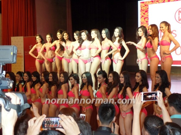 The 27 Official Candidates of Miss World Philippines 2015