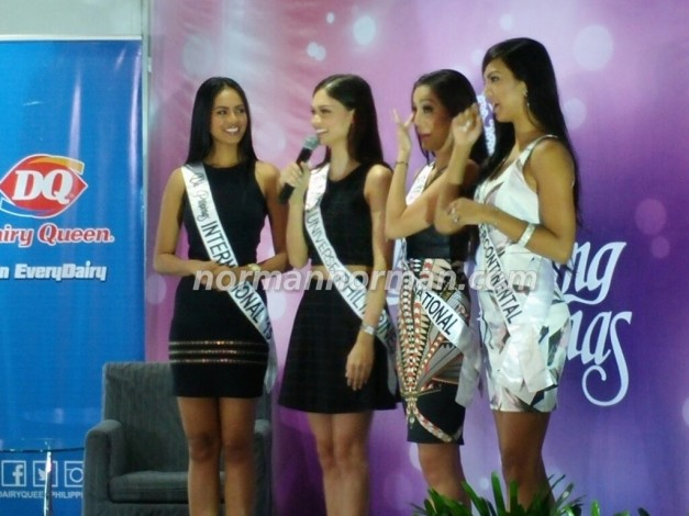 Tearful ladies giving their words of encouragement for Janicel