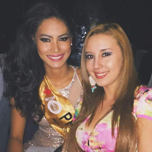 Miss Philippines Ann Colis and Miss Nicaragua Desiree Estrada are roommates for Miss Globe 2015