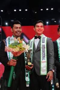 Judah (right) with his 2015 successor Willan Pagayon