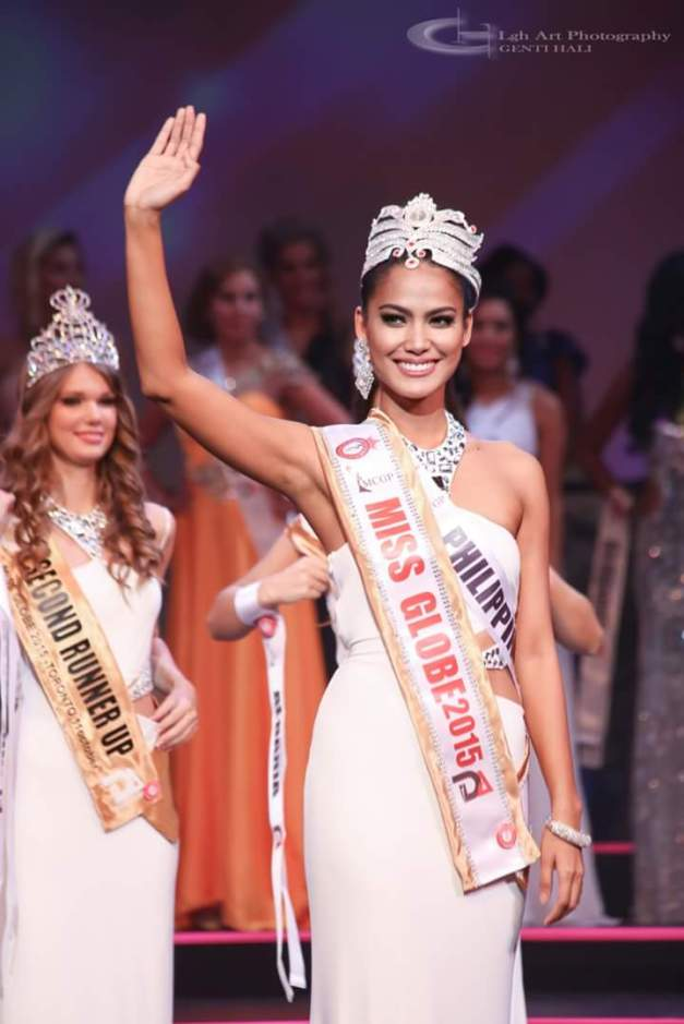 Congratulations once more, Miss Globe 2015 Ann Colis!
