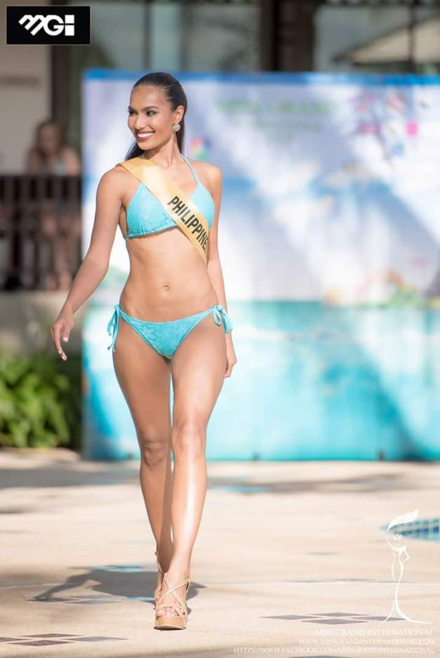 You can't help but heap praises for our Miss Grand International 2015 bet