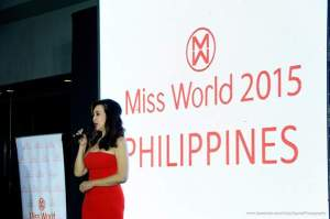 Ms. Cory Quirino during the Gala Night (Photo credit: Andy Cayna)