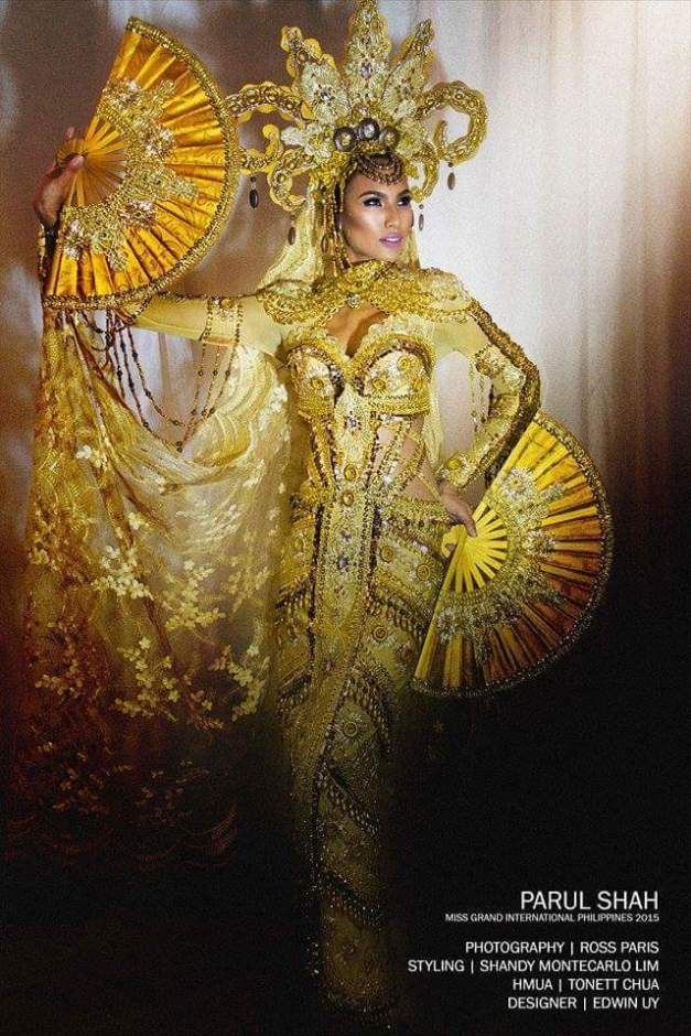The Edwin Uy creation  Parul Shah will be wearing in today's National Costume competition
