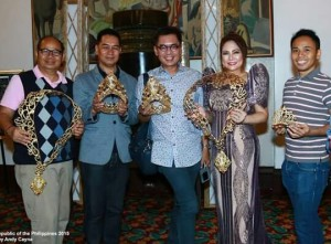 Your blogger, Ms. Lynette Padolina and my media colleagues (Photo credit: Andy Cayna)