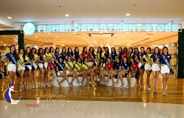 The Miss Republic of the Philippines 2015 Official Candidates for Fisher Department Store (Photo credit: Jhosh Rodriguez)