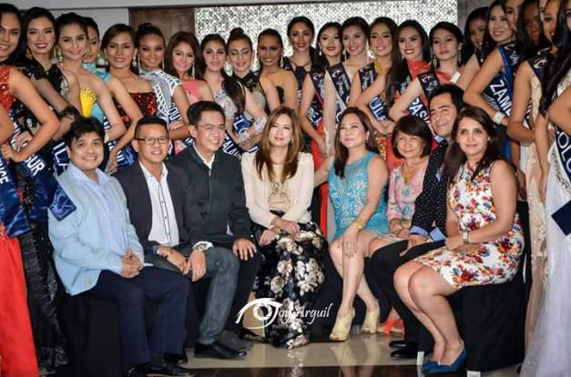 The sponsors of Miss Republic of the Philippines were also recognized, including your blogger (seated 3rd from left) Photo credit: Joy Arguil