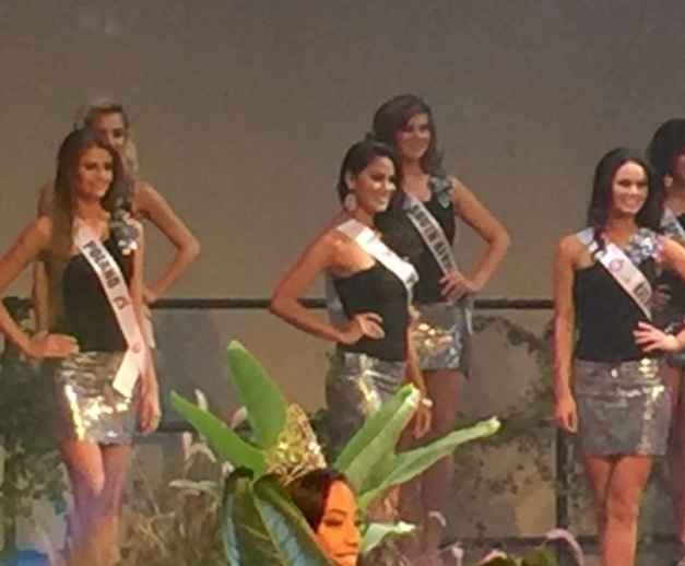 Miss Philippines Ann Colis in the Top 15