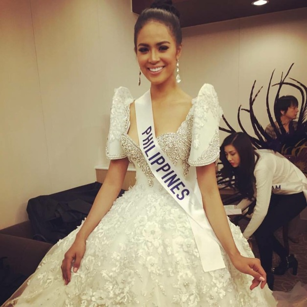 Miss Philippines Janicel Lubina and her Leo Almodal National Costume