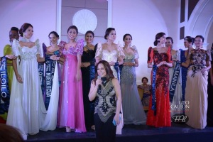 Ms. Lynette Padolina beaming with pride