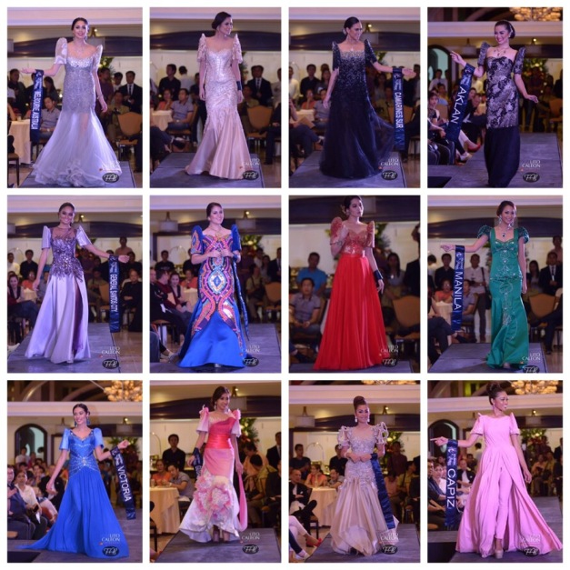 More Philippine Ternos from the members of Vatican Fashion Museum (Photo credit: Lito Caleon for Fabmanilaph)