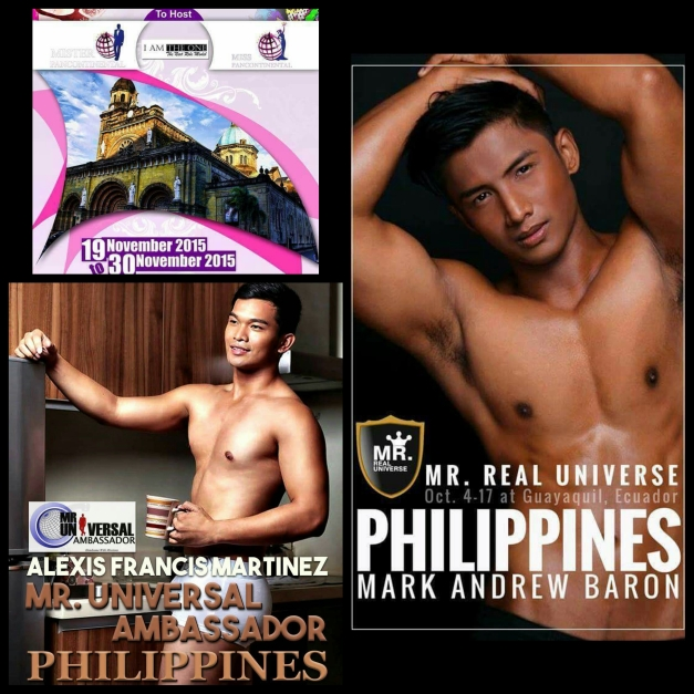 Sending off Mark Andrew Baron to Ecuador and Alexis Martinez to Indonesia, and the launch of Mr. & Ms. Pancontinental 2015