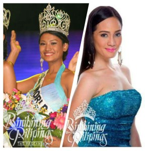 Czarina and Rhea during their Bb. Pilipinas days
