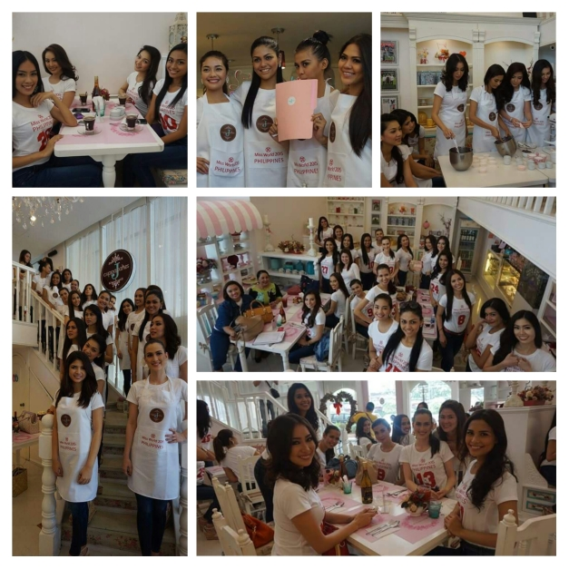 The ladies enjoyed their time baking and tasting cupcakes (Photo credit: Sharene Valencia Roco)