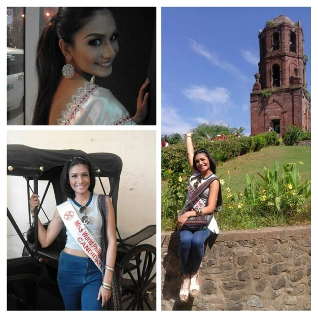 Miss World Philippines 2015 Official Candidate Casey Austria of Albay in historic Vigan