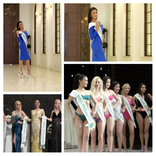 Miss Philippines Tim Alsowyed in various shots from Seoul, Korea