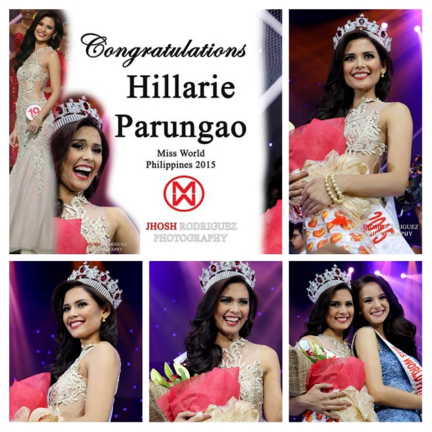 A very happy Hillarie Danielle Parungao. She is now Miss World Philippines 2015. (Photo credit: Jhosh Rodriguez)
