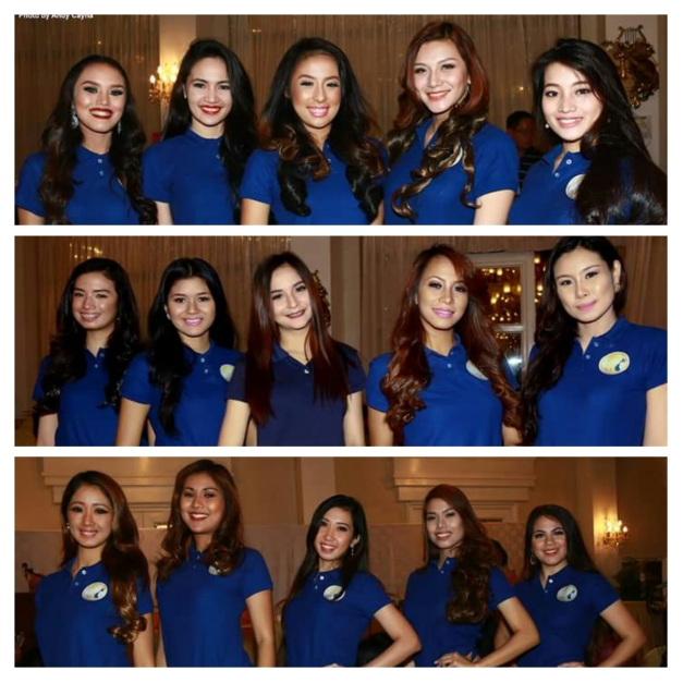 Some of the Miss Republic of the Philippines Official Candidates (Photo credit: Andy Cayna)