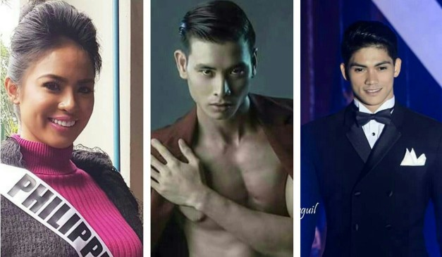 Next in line for November are (left-to-right) : Janicel Lubina for Miss International 2015, Arcel Yambing for Mister Model International 2015 and Rein Villareal for Mister International 2015